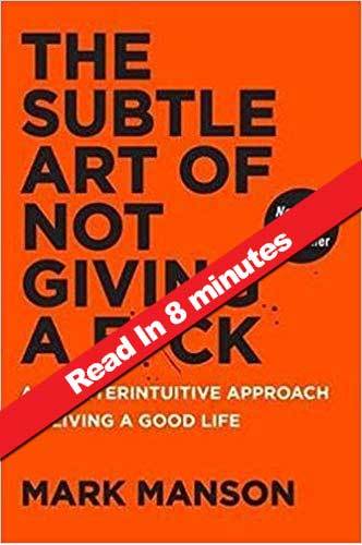 Book Summary_The Subtle Art of Not Giving a Fuck