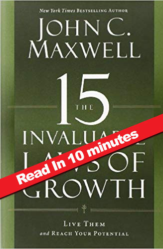 15-laws-of-growth book summary