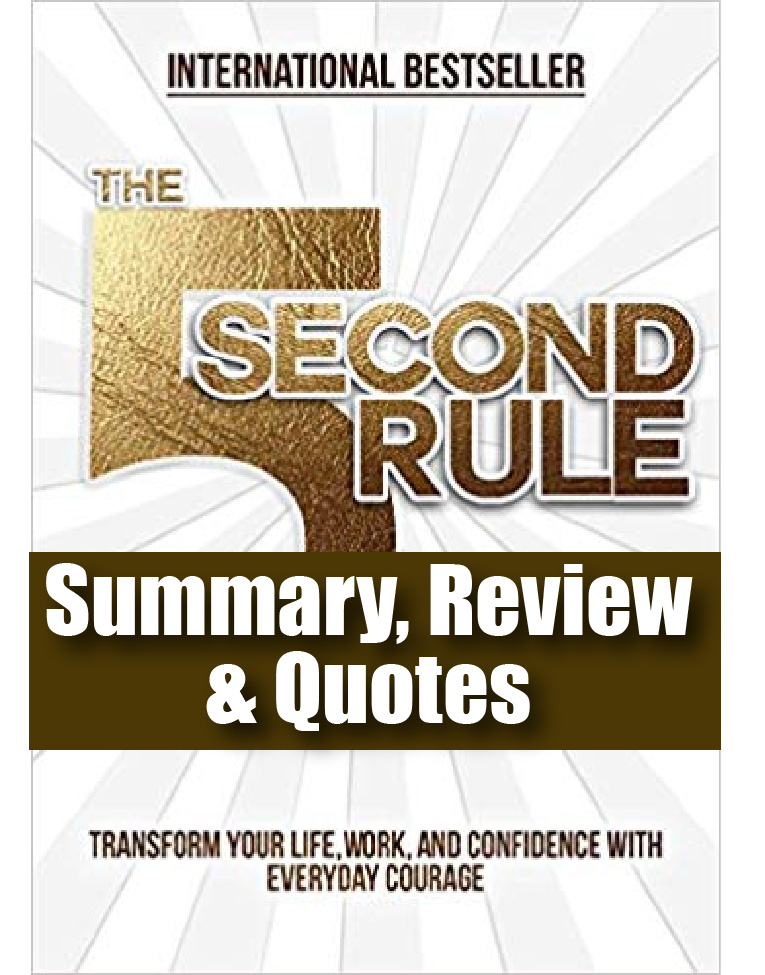 The 5 Second Rule Mel Robbins Review, Summary & Quotes