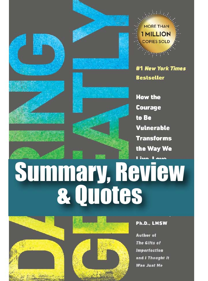Book Summary Daring Greatly Brene Brown