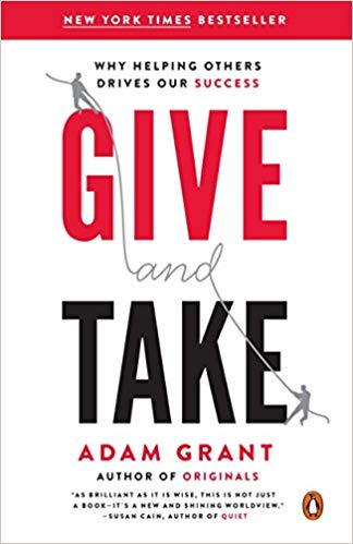 give and take summary adam grant