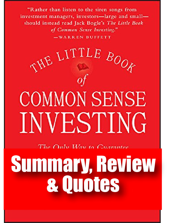he Little Book Of Common Sense Investing: Review, Summary & Quotes