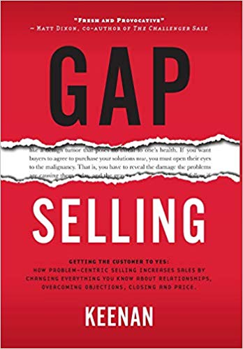 gap selling by keenan book summary