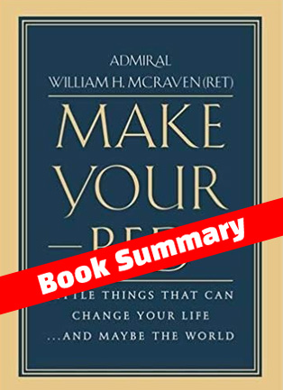 Make Your Bed book summary
